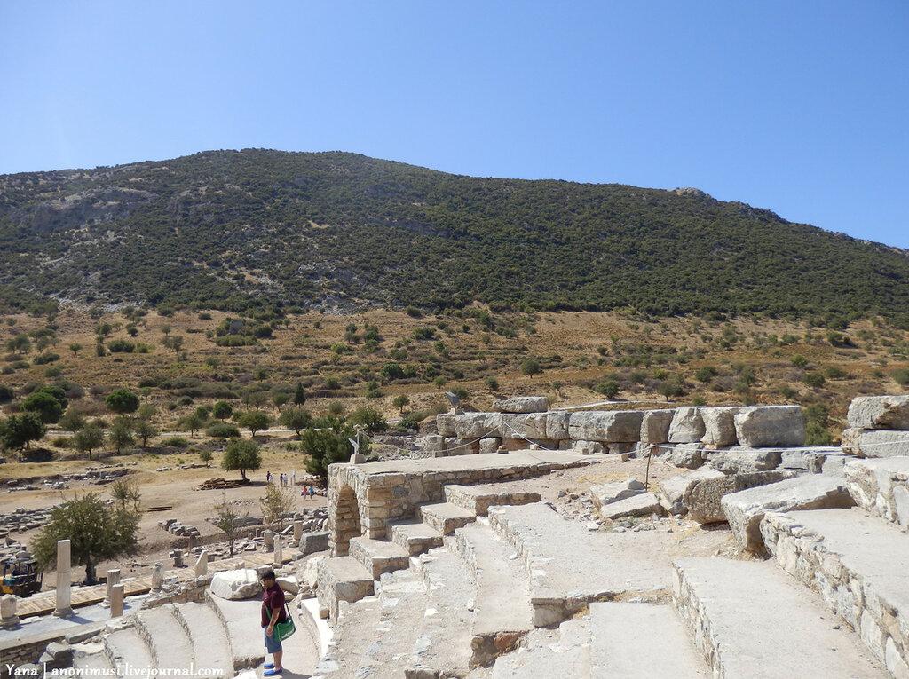 Древний город Эфес. Турция.