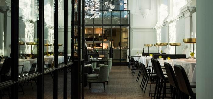 Новый ресторан в старой часовне. The Jane & The Upper Room Bar. Антверпен. Бельгия