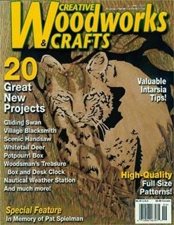 Журнал Журнал Creative Woodworks & Crafts №6 2005