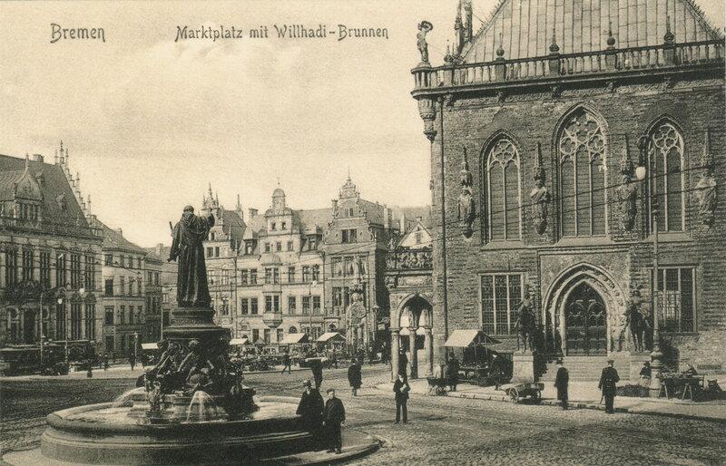 Marktplatz mit Willhadi-Brunnen