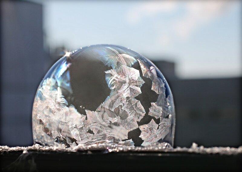 3. Жил-был на морозе пузырь. Биография.