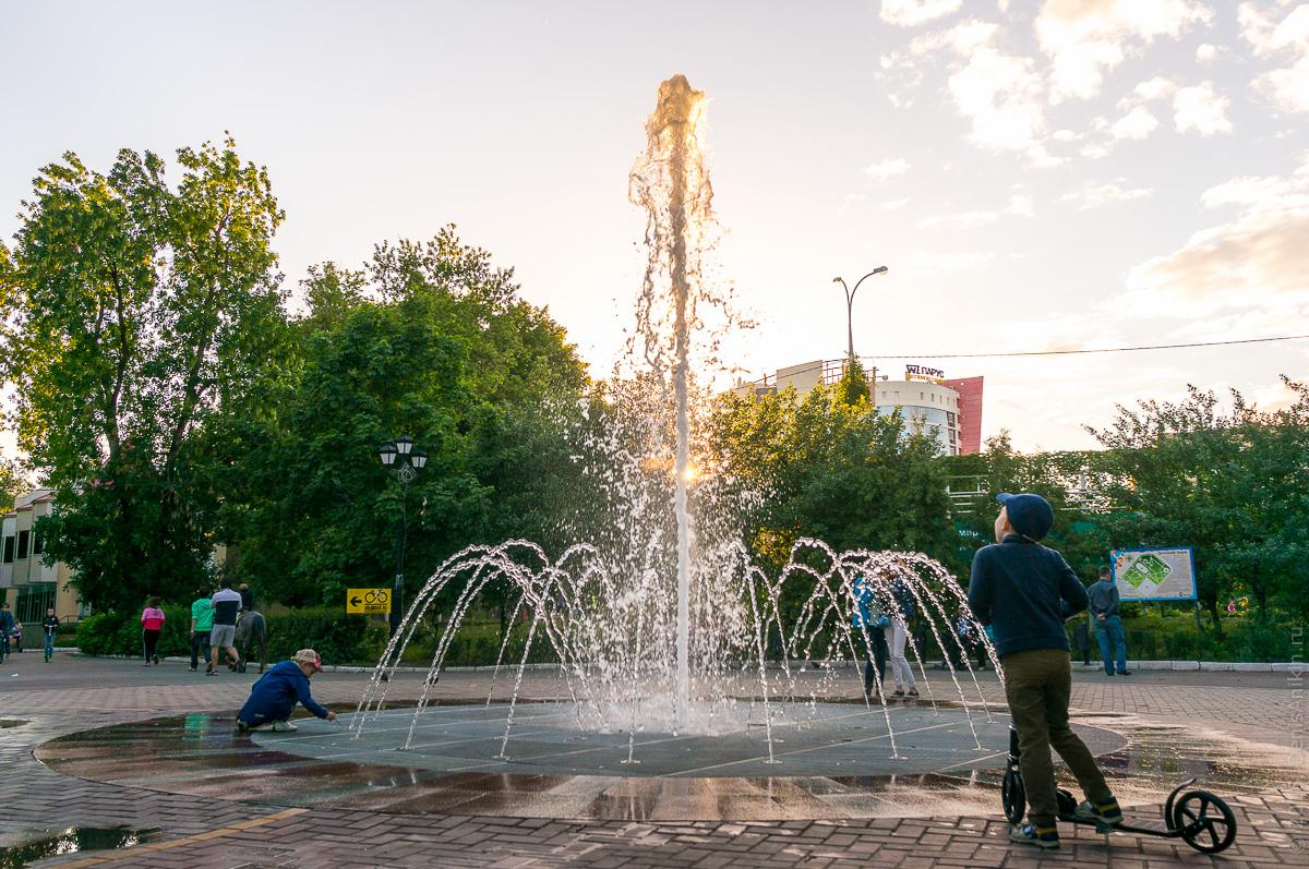Фонтан детский парк Саратов 1
