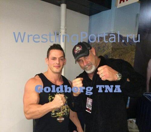 Голдберг в TNA 2015 году