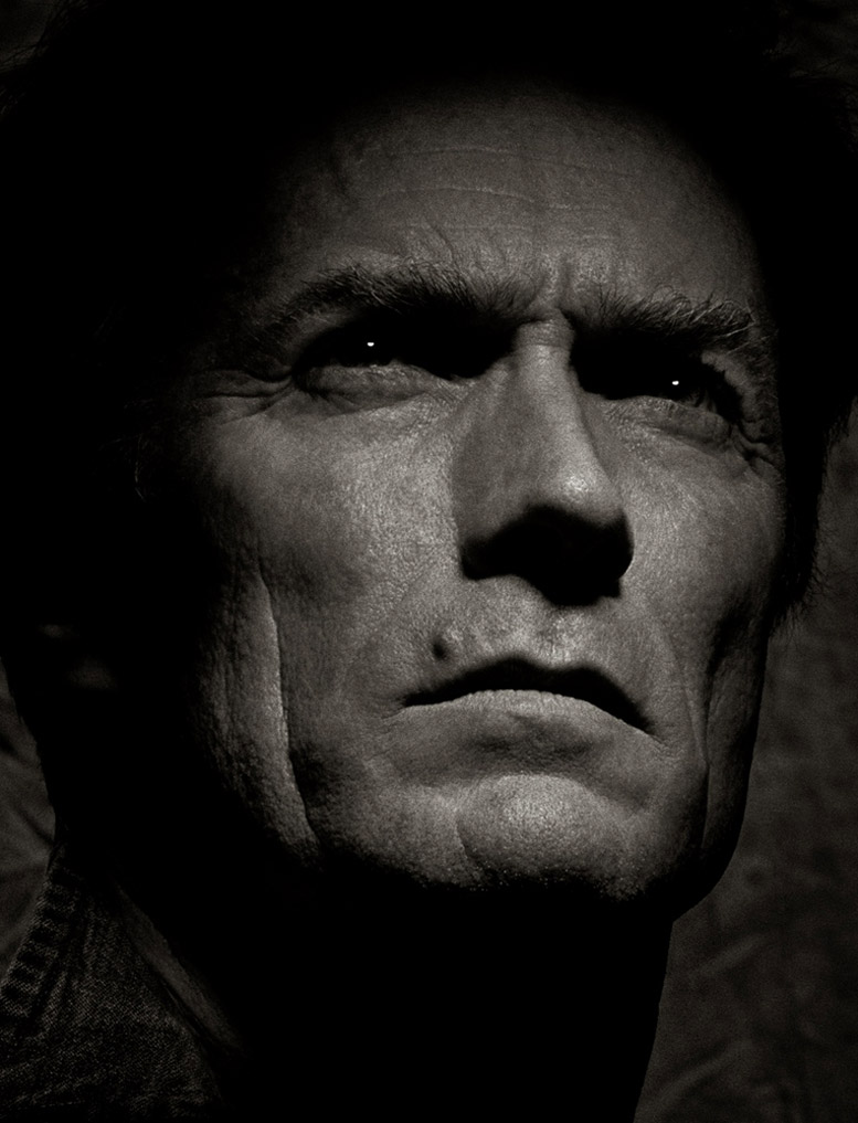 работа фотографа Альберта Уотсона / Clint Eastwood - photo by Albert Watson