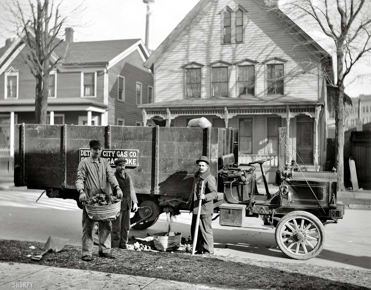 Специализированные транспортные средства начала 20-го века на снимках американских фотографов (13)