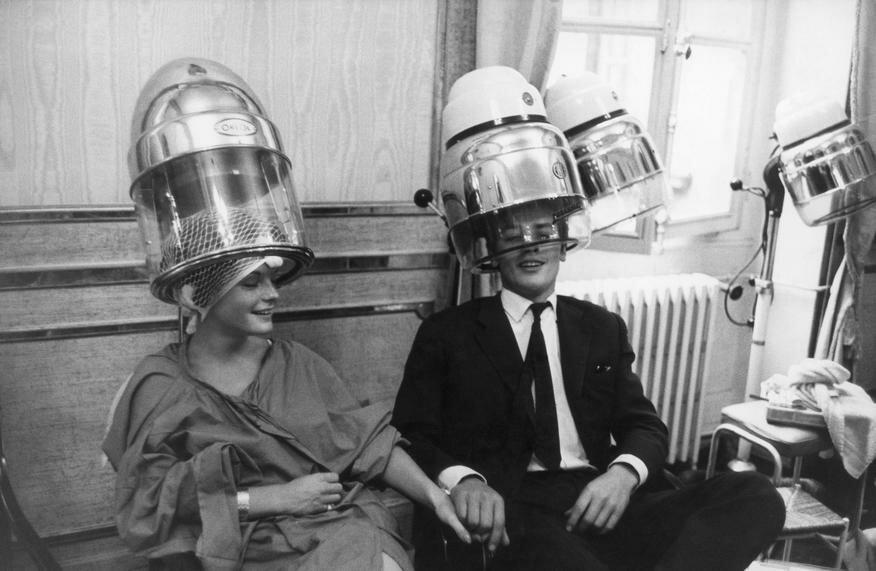 1958. Роми Шнайдер и Ален Делон