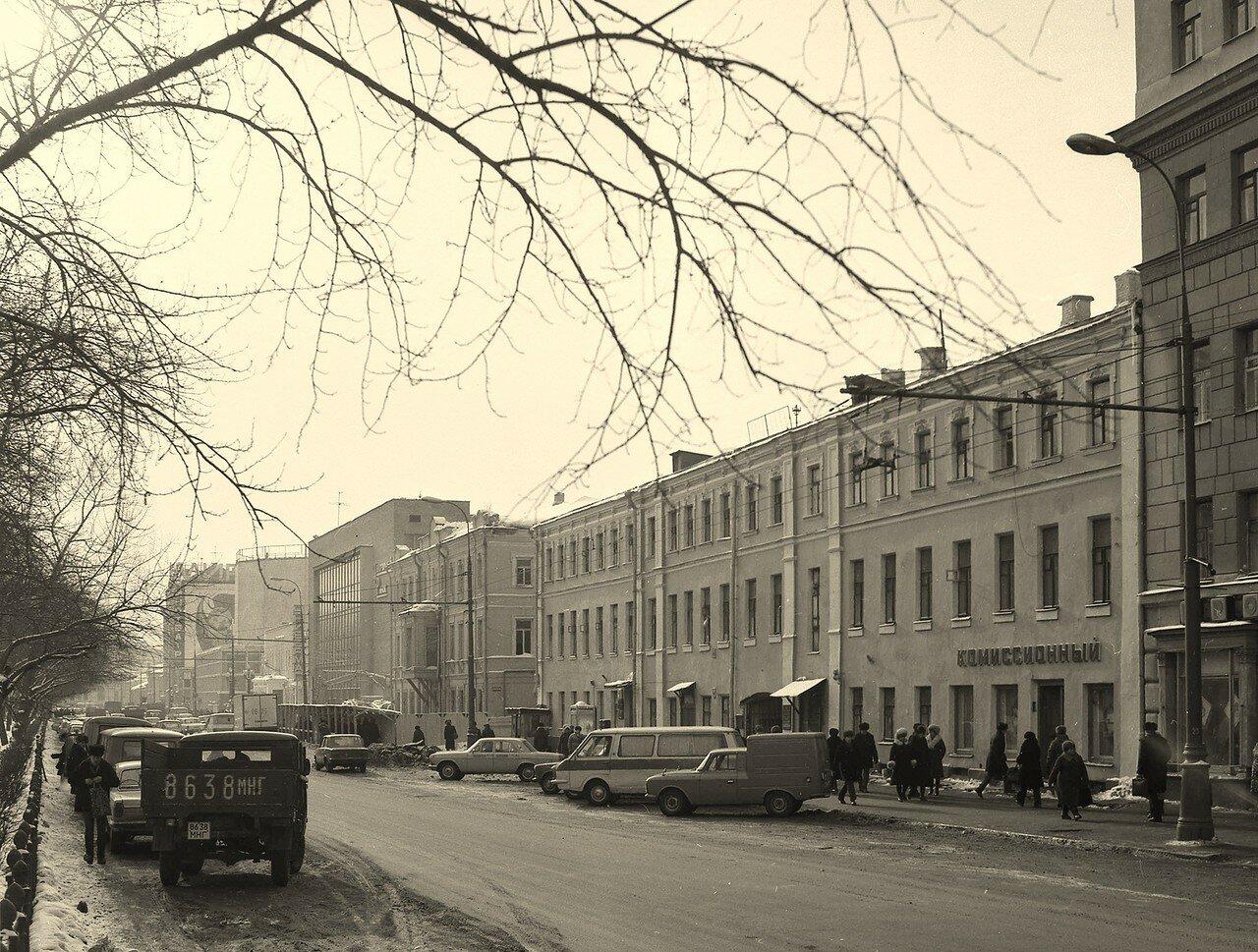 1986. Цветной бульвар.
