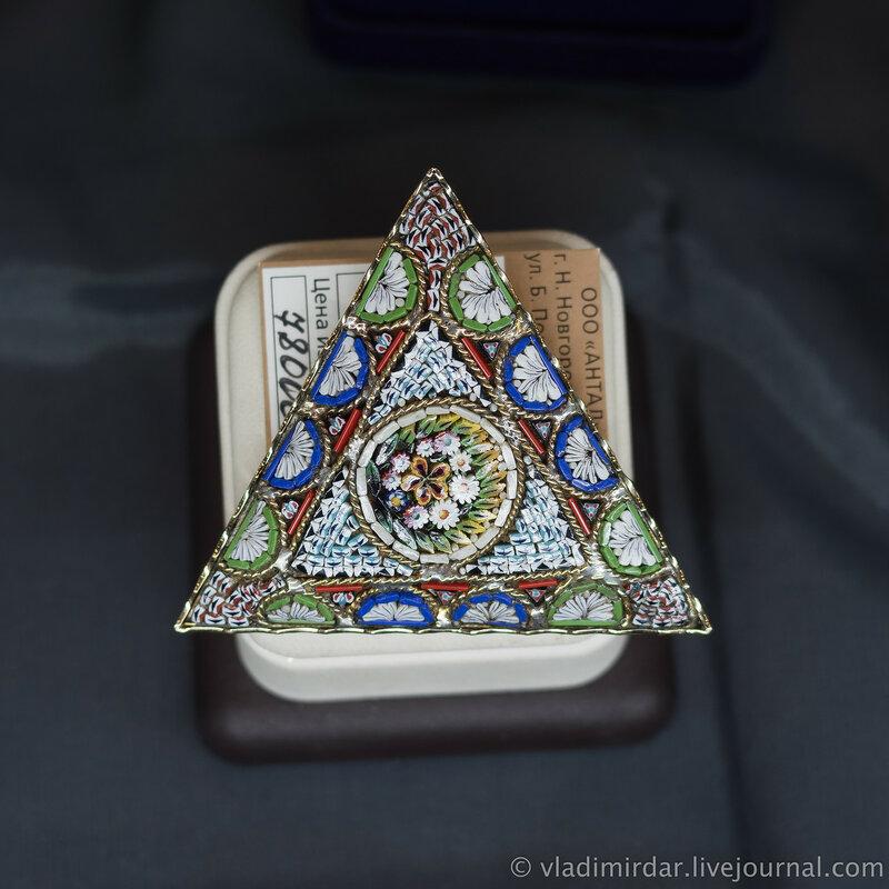 Венецианская мозаика. Ювелирные украшения.