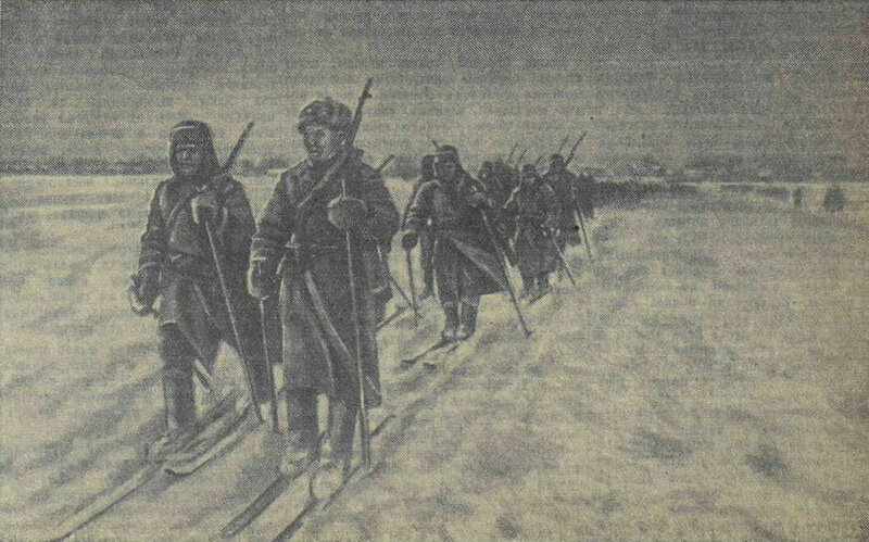 «Известия», 9 января 1942 года, как русские немцев били, потери немцев на Восточном фронте, красноармеец, Красная Армия