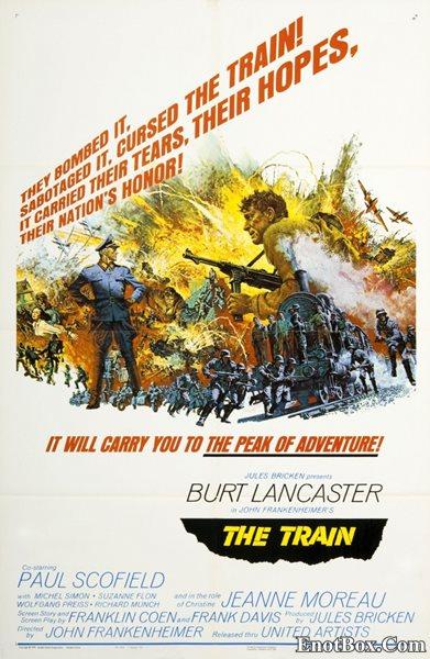 Поезд / The Train (1964/BDRip/HDRip)