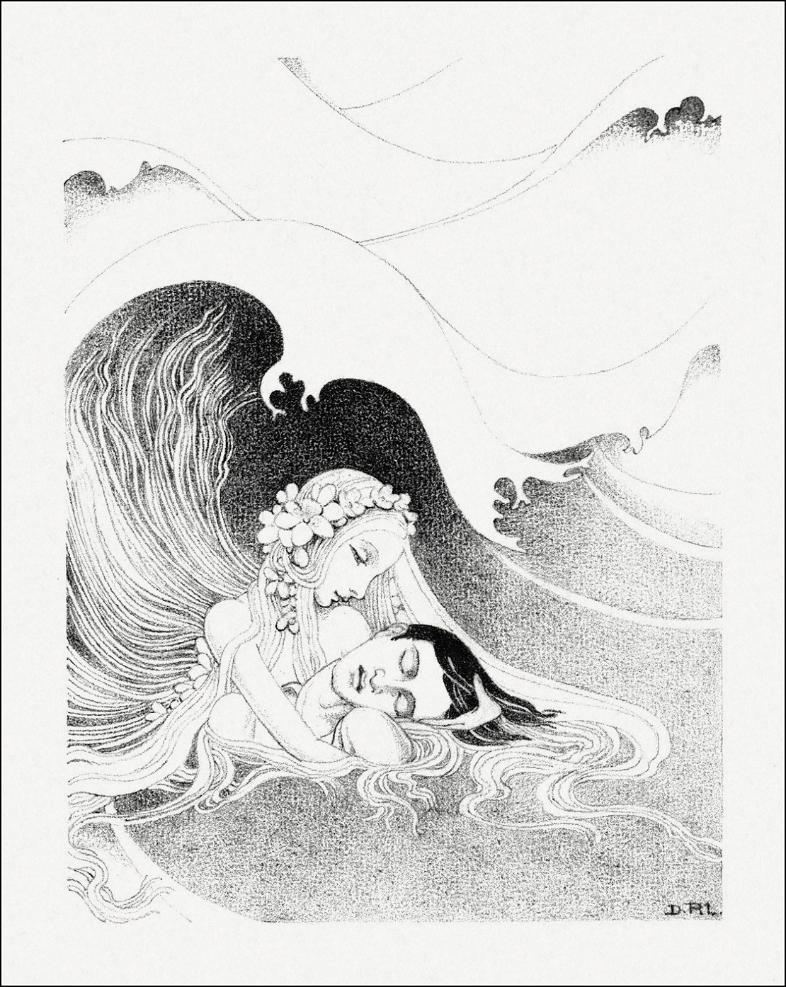 Dorothy Lathrop, The Little Mermaid 7