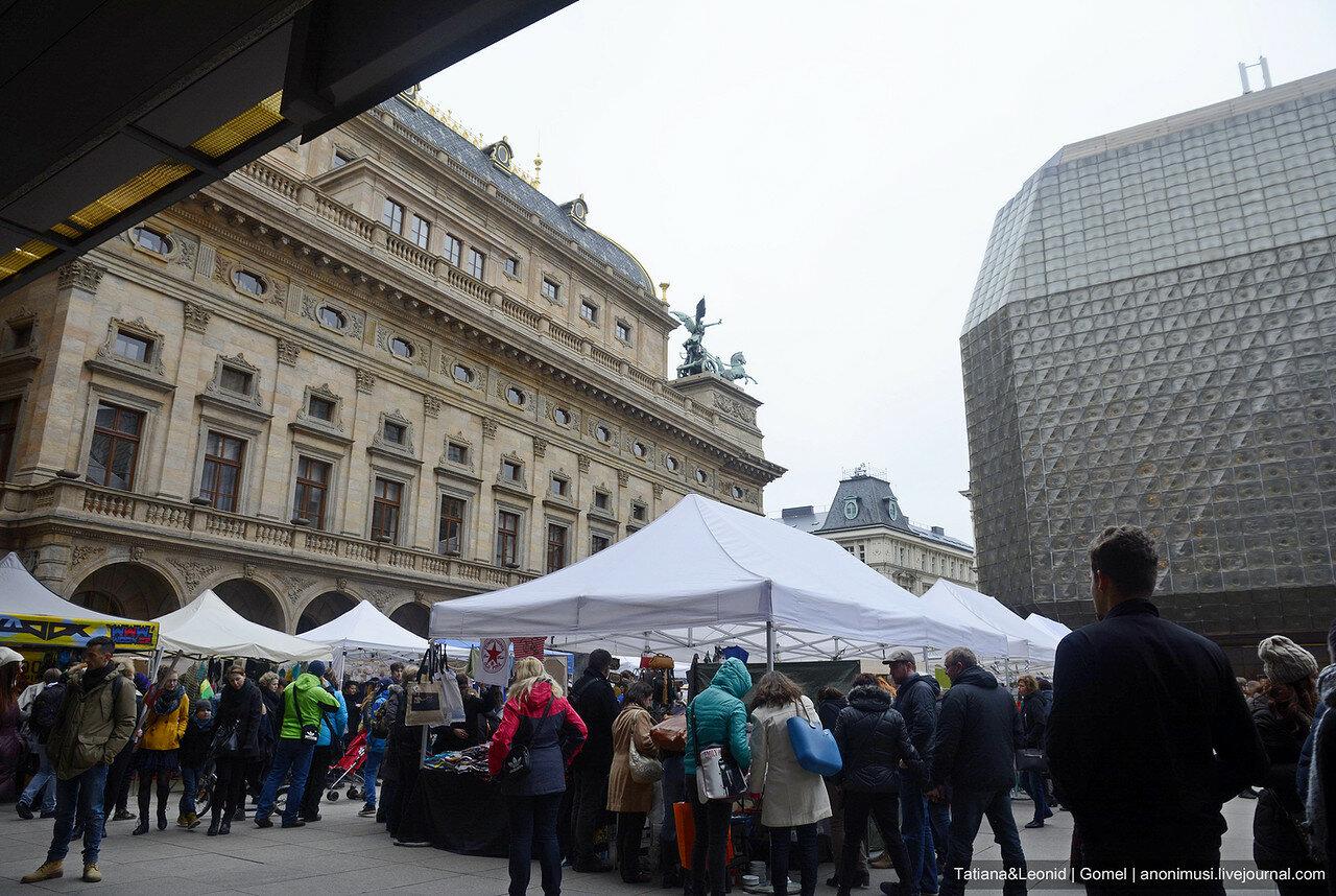 Ярмарка хенд-мейд в Праге
