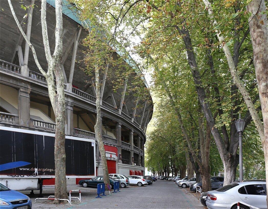 Памплона. Арена для корриды (Plaza de toros Monumental de Pamplona)