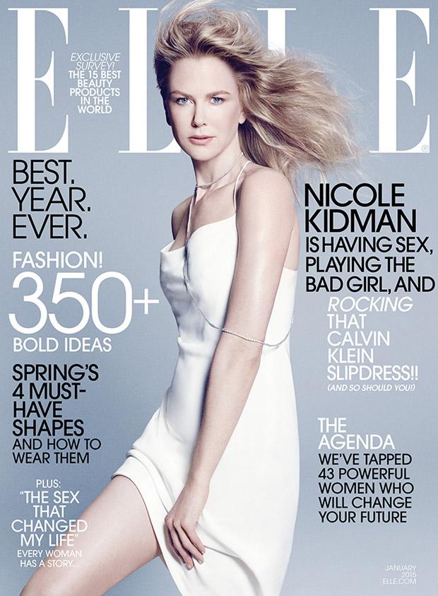 Николь Кидман (Nicole Kidman) в журнале American Elle (2 фото)