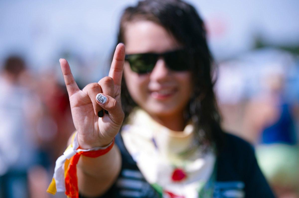 Фото девушек с фестиваля НАШЕСТВИЕ — 2016 (85 фото)