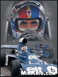 Журнал Tyrrell 006 François Cevert, German GP (1973) [spinler]