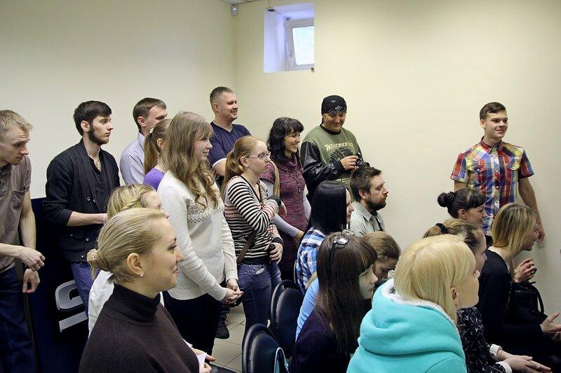 Зрители на концерте школы рока Rock Stars school Киров