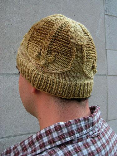 шапка Trilobite by Hannah Ingalls