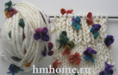 Можно ли вязать узоры пряжей Alize Flower