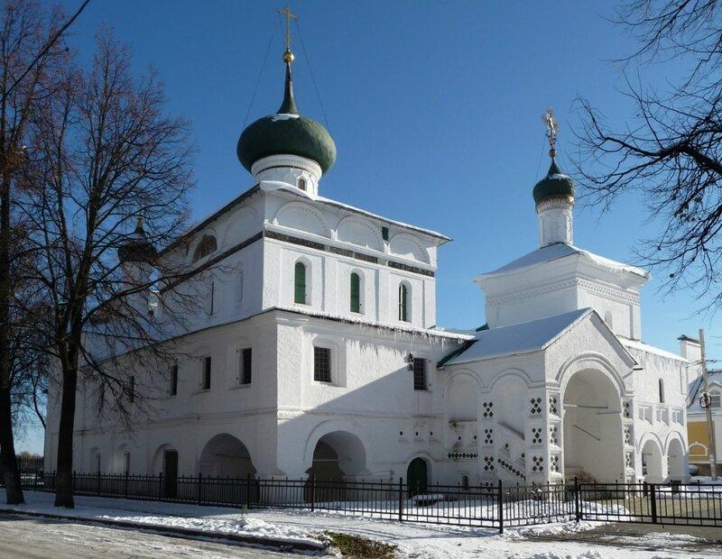 Ярославль, церковь Рождества Христова