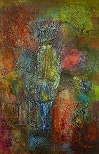 Колотвин Валерий Складки леса. 2001. 60 х 39. Холст, масло.jpg