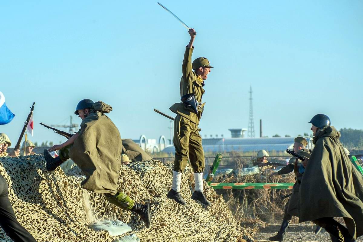 Разгром японцев на берегах Амура: Реконструкция событий времен 2-й мировой войны (21)