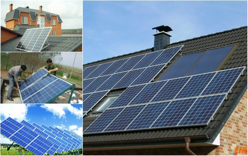 Как из солнечных батарей сделать 220 вольт