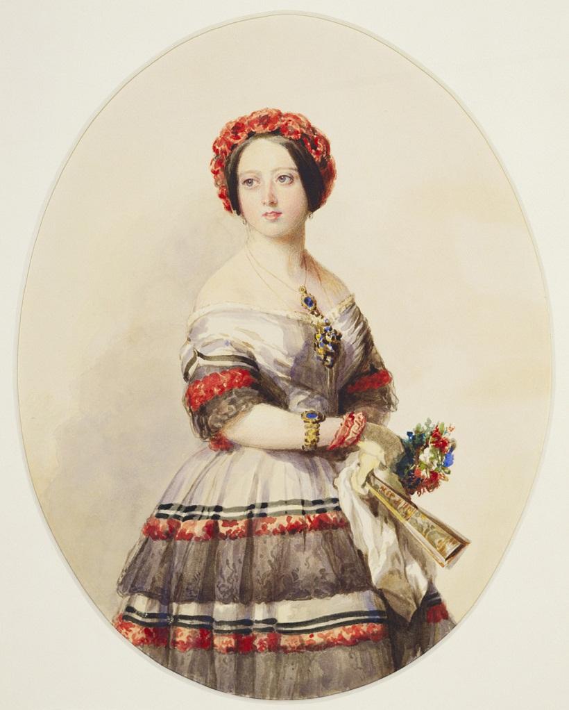 Винтерхальтер (1805-73)Королева Виктория  c.Oct одна тысяча восемьсот сорок шесть