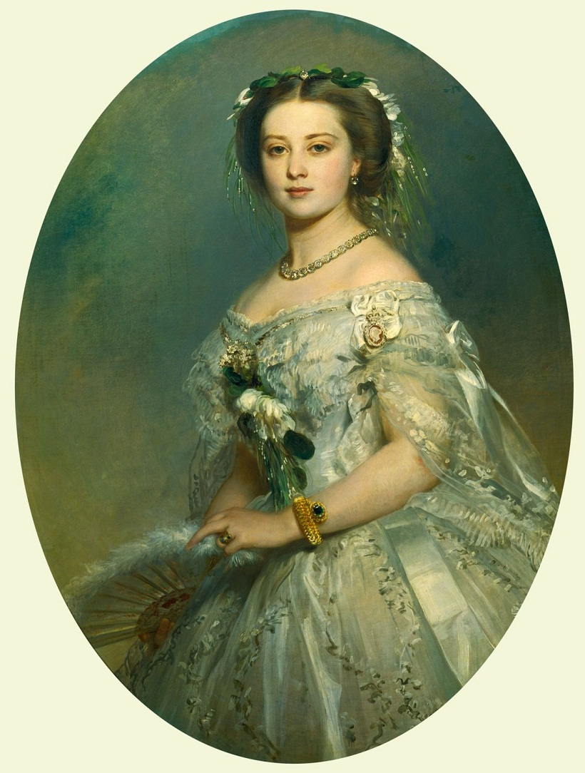 Franz Xaver Winterhalter (1805-73)Victoria, Princess Royal (1840-1901), later Empress Frederick of Germany  Signed and dated 1857