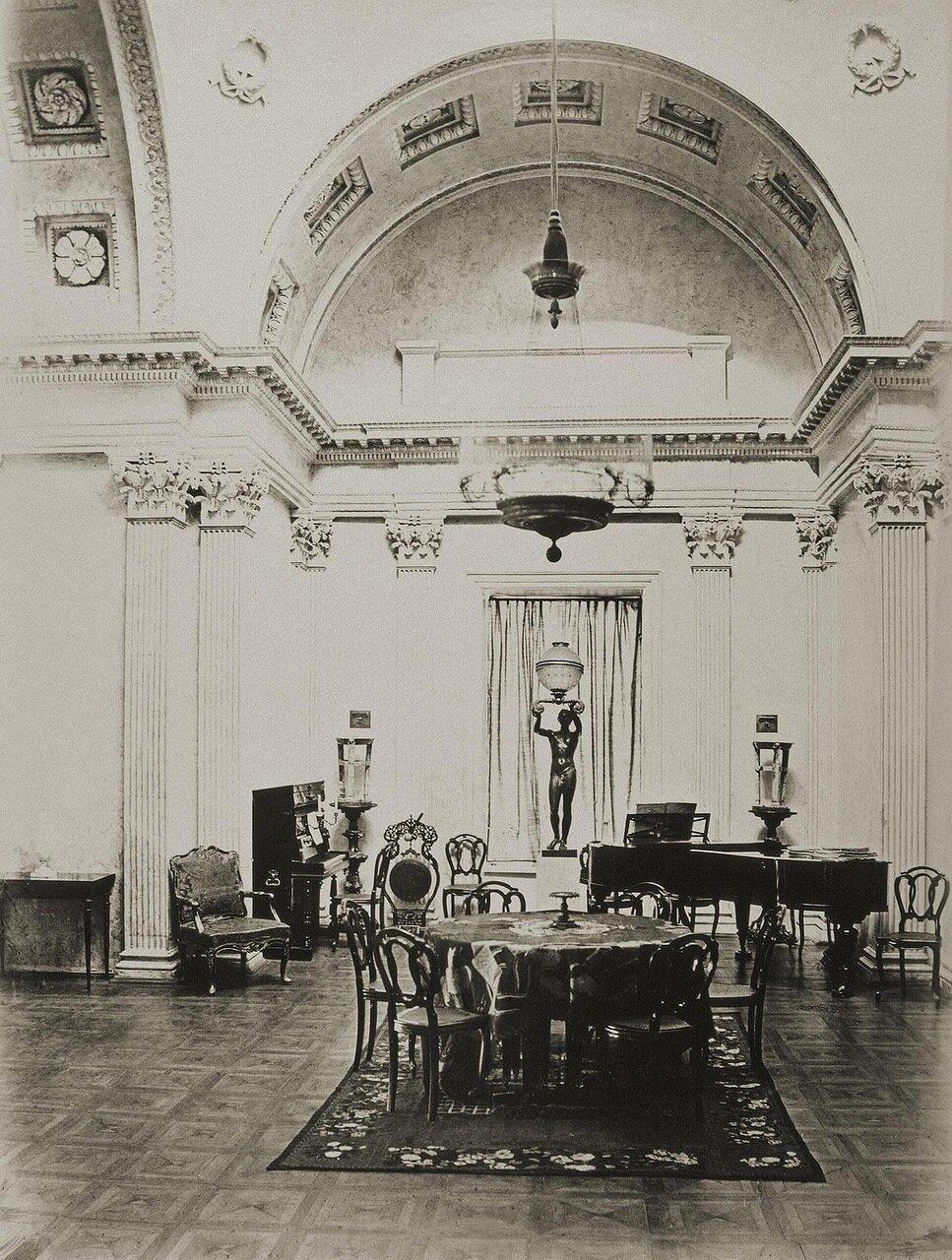 Дворец И.Ф. Паскевича в Гомеле. Парадный зал