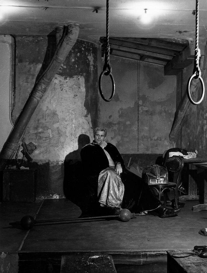 1961. Джек Лазартис, борец