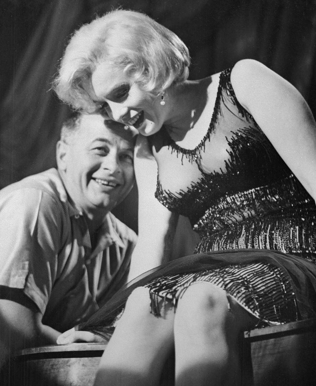 Marilyn Sharing a Laugh