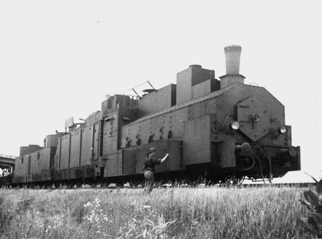 Брошенный бронепоезд №17.