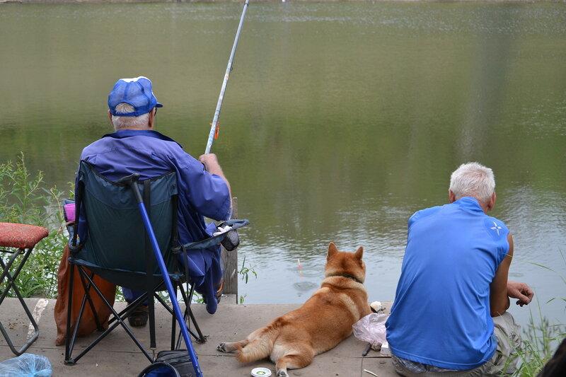 Мужички на рыбалке