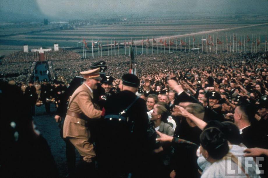 На Дне благодарения в Бюккебурге. 1937 год.