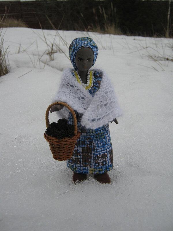 """Куклы в Костюмах Народов Мира - Конкурс """"Идёт волшебница-зима..."""""""