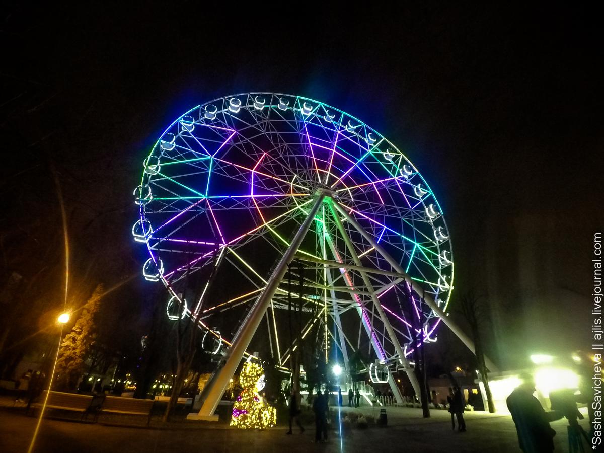 Чуть-чуть новогоднего Ростова. Фото: Саша Савичева