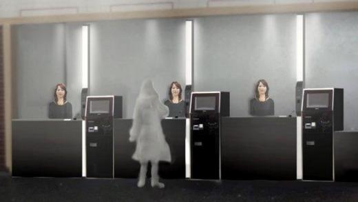 Японские роботы на службе в отеле