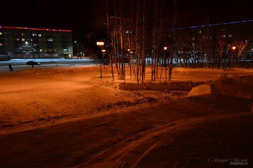 Фото города Инта №7380  Кирова 31, Горького 1 и Бабушкина 1 23.12.2014_18:11