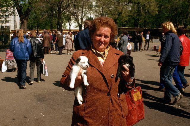 1986-Moscow, Animal Market