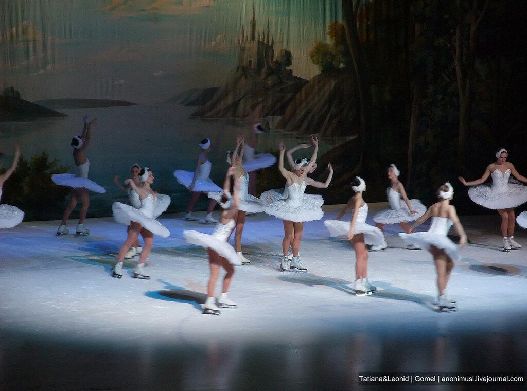 Балет на льду Лебединое озеро