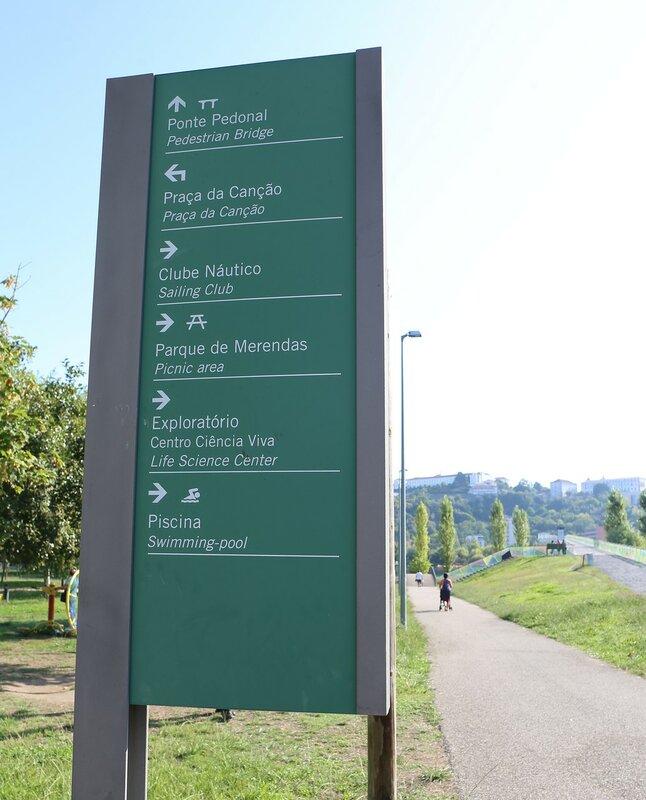 Коимбра. Парк Шоупалину (Parque do Choupalinho)