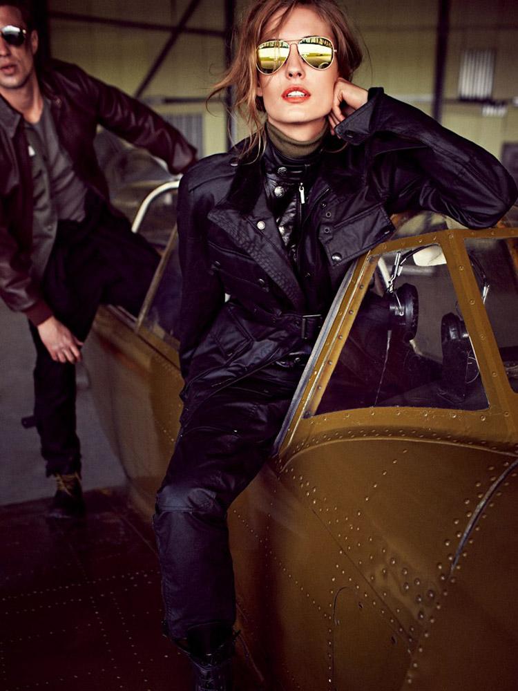 Надя Бендер (Nadja Bender) в журнале Vogue Russia (10 фото)