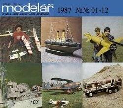 Книга Modelar 1987 №№ 01-12