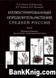 Книга Иллюстрированный определитель растений Средней России. Том 2.