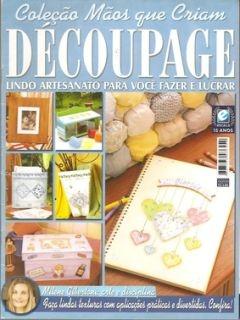 Журнал Decoupage. Colecao Maos que Criam