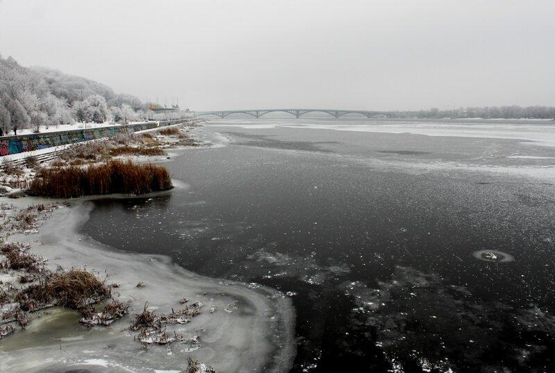 Лед на Днепре