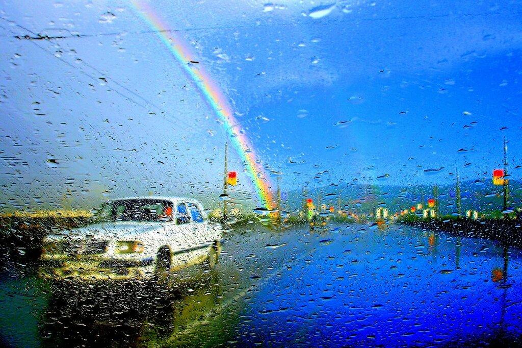 Картинки про, дождь и радуга картинки