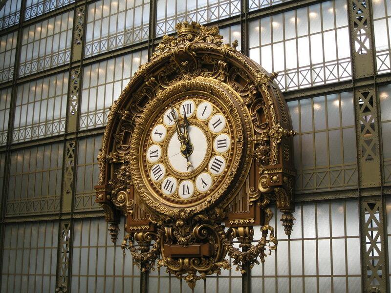 часы в музее Орсэ