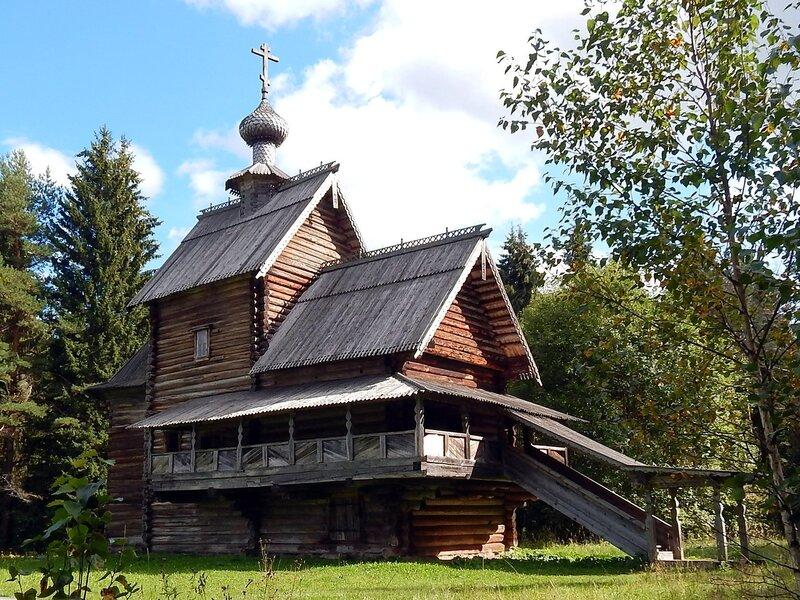 Преображенская  церковь. 1732 г